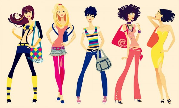 shopping-girls