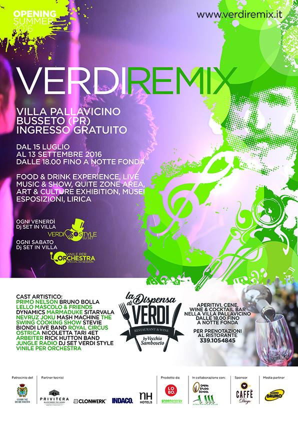 Verdi Remix locandina
